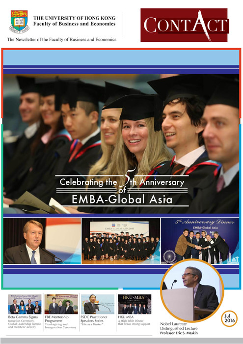 Celebrating the 5th Anniversary of EMBA-Global Asia