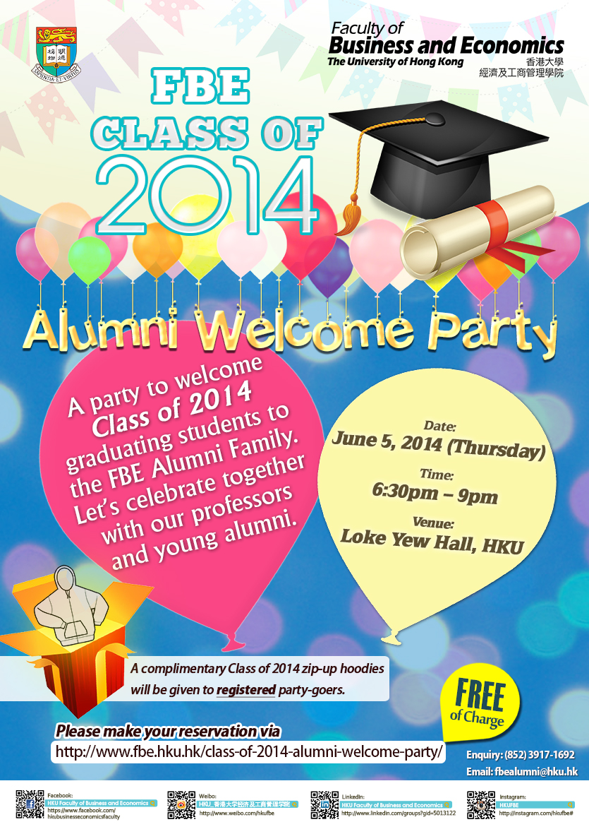 Class of 2014 Alumni Welcome Party