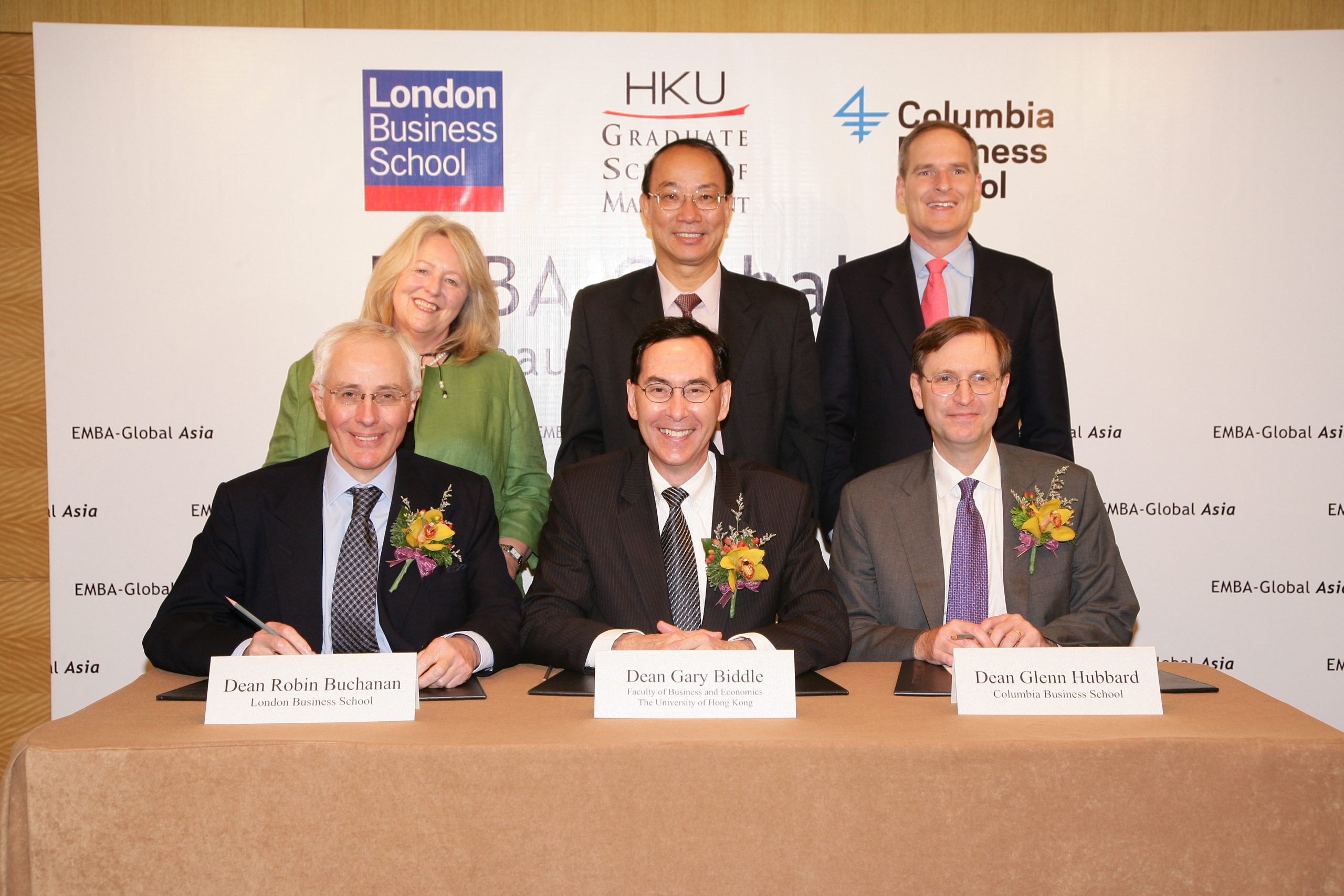 EMBA-Global Asia programme launched in partnership with London Business School and Columbia Business School
