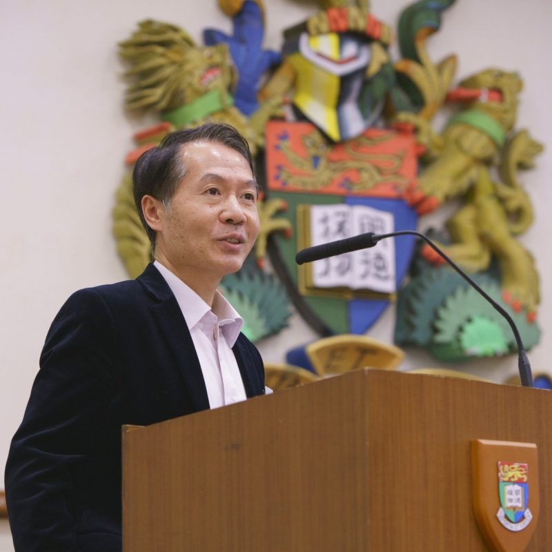 252156-2016Mar23_HKUFBE_Welcome Remarks by Professor Larry Dongxiao QIU