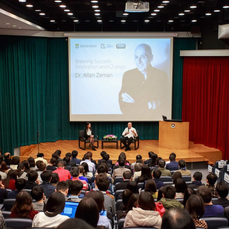 Distinguished Lecture by Dr. Allan Zeman