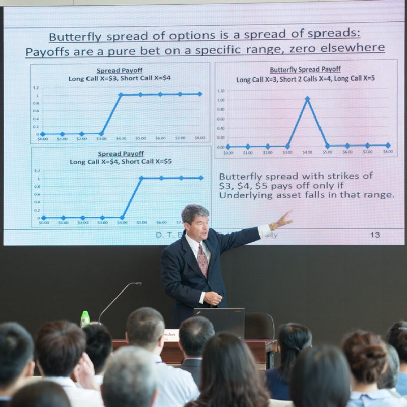 Seminar by Professor Douglas Breeden - Central Bank Policy Impacts on the Distribution of Future Interest Rates