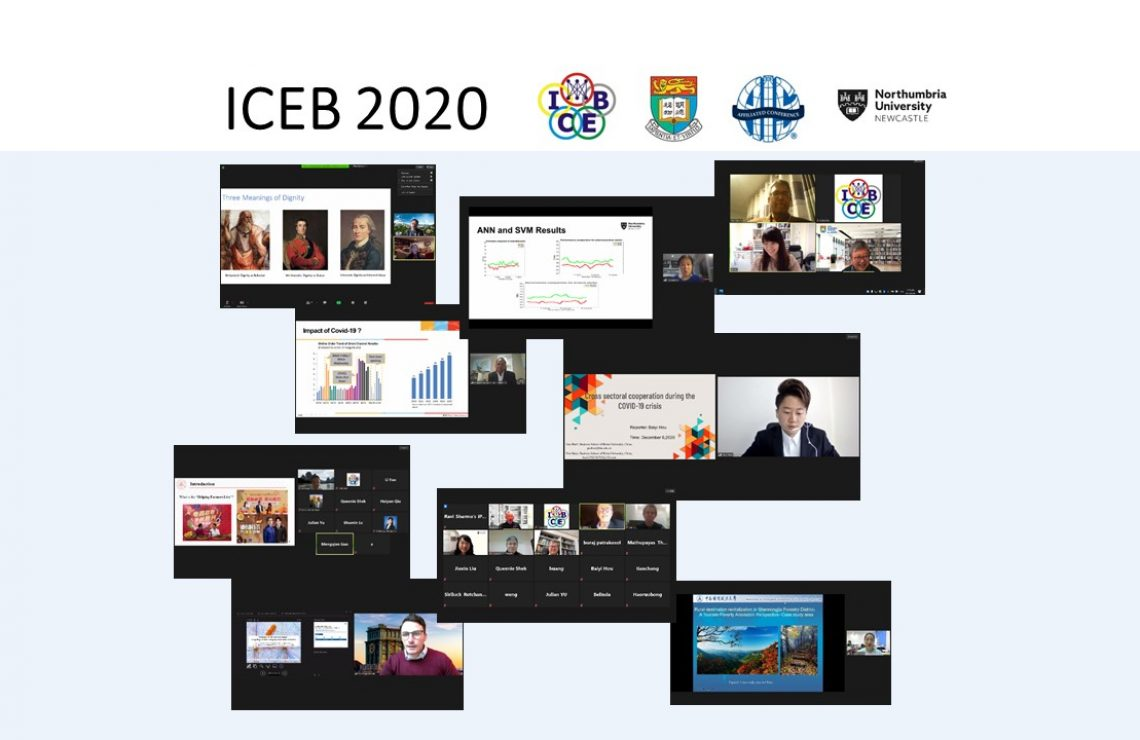 ICEB 2020 hosted by HKU Business School brings together top researchers in Electronic Business