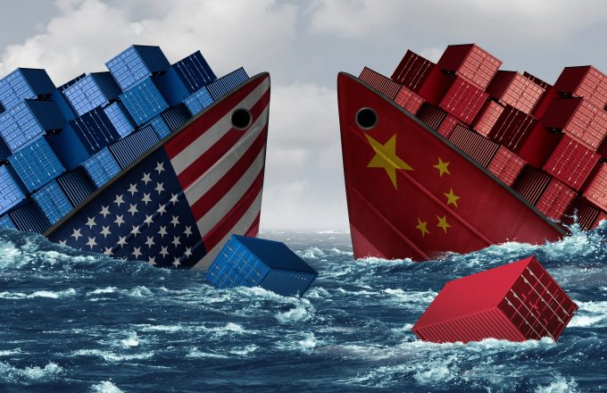 China,United,States,Trade,War,Risk,And,American,Tariffs,Or