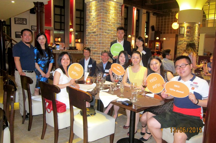 HKU MEcon & MFin reunion dinner 2015 @ Shanghai