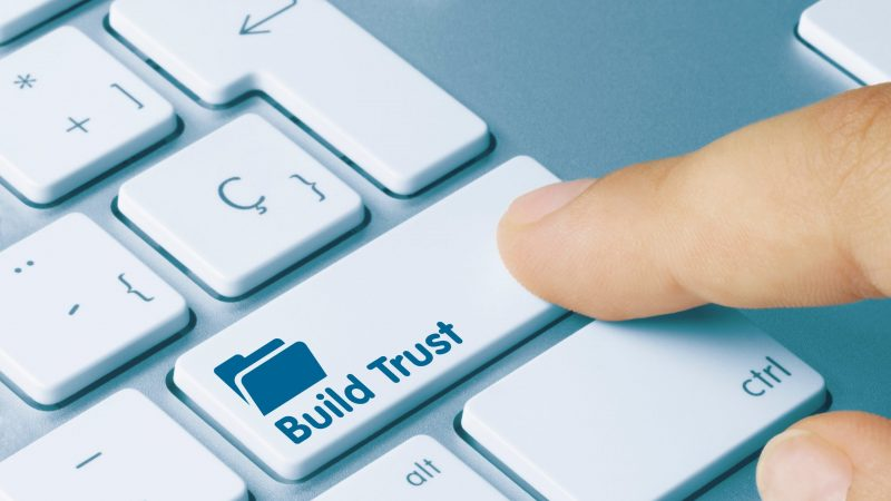 How to gain people's trust