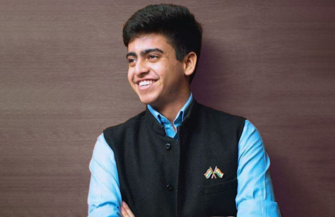 BBA (IBGM) student Shivang Singh garners recognition from The Global Undergraduate Awards for his research