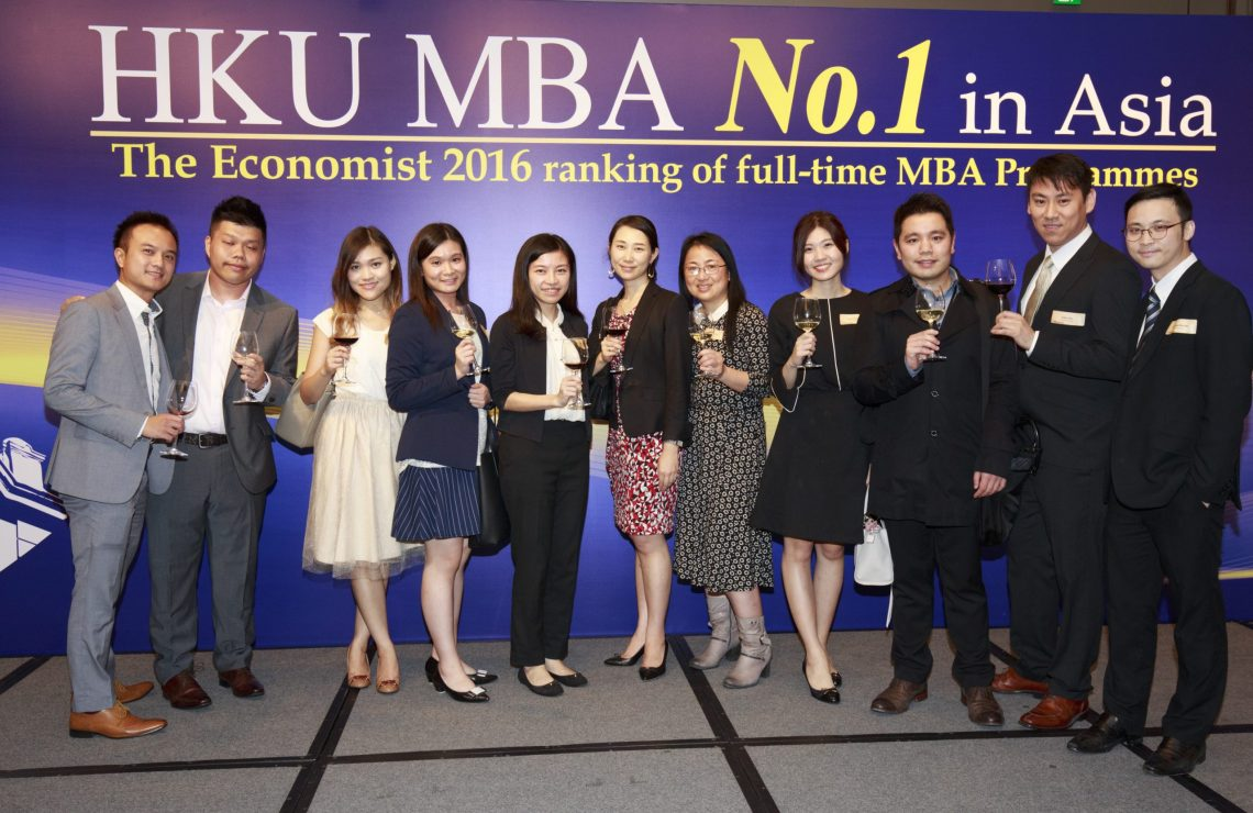 HKU MBA Programme Ranked No.1 in Asia by The Economist for the 7th Consecutive Year