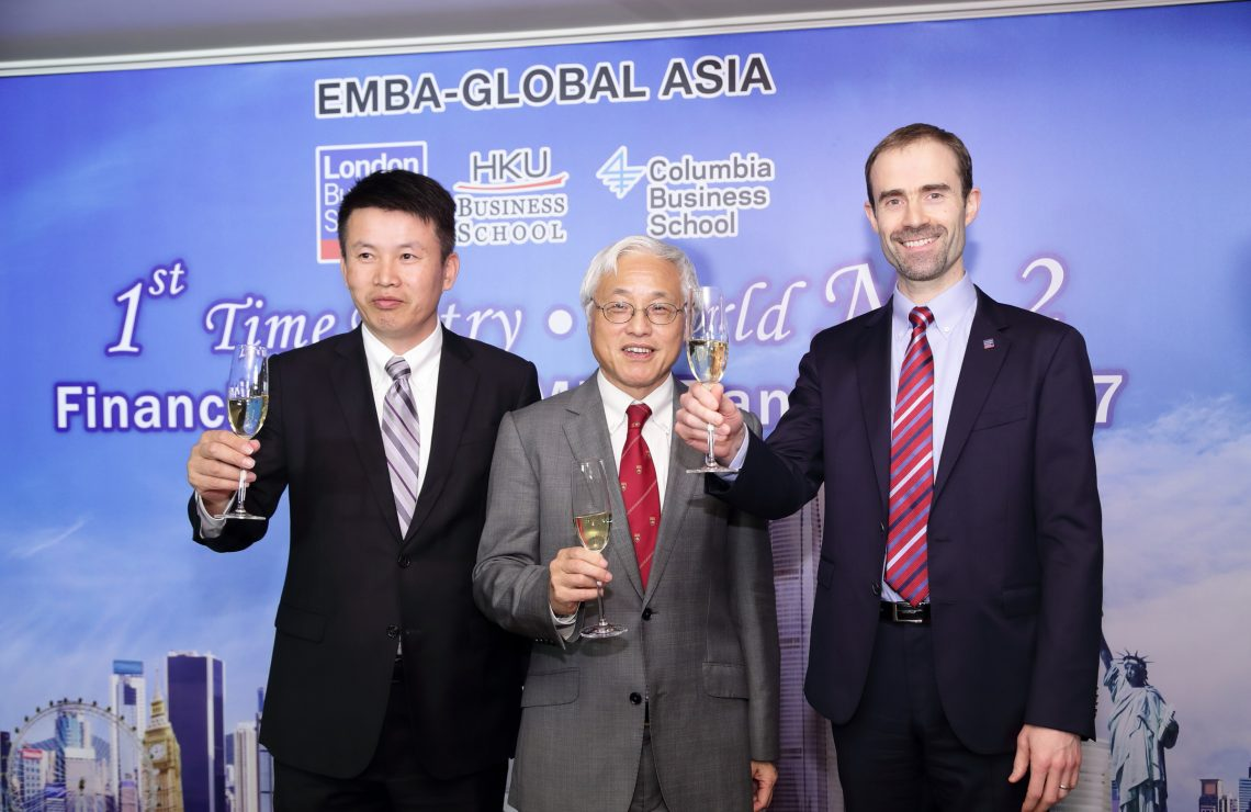EMBA-Global Asia programme awarded second in its first ever ranking by Financial Times