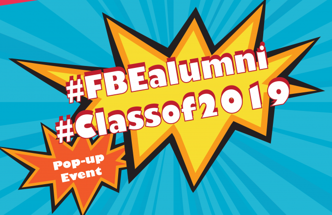 #FBEalumni Pop-up Event