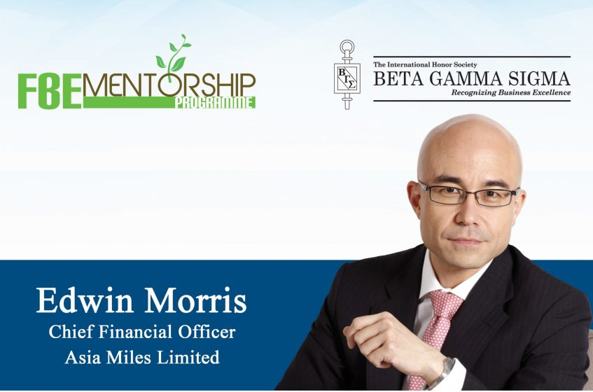 Mentorship Programme x BGS HKU Chapter Seminar - How to Live a Life Rewarded