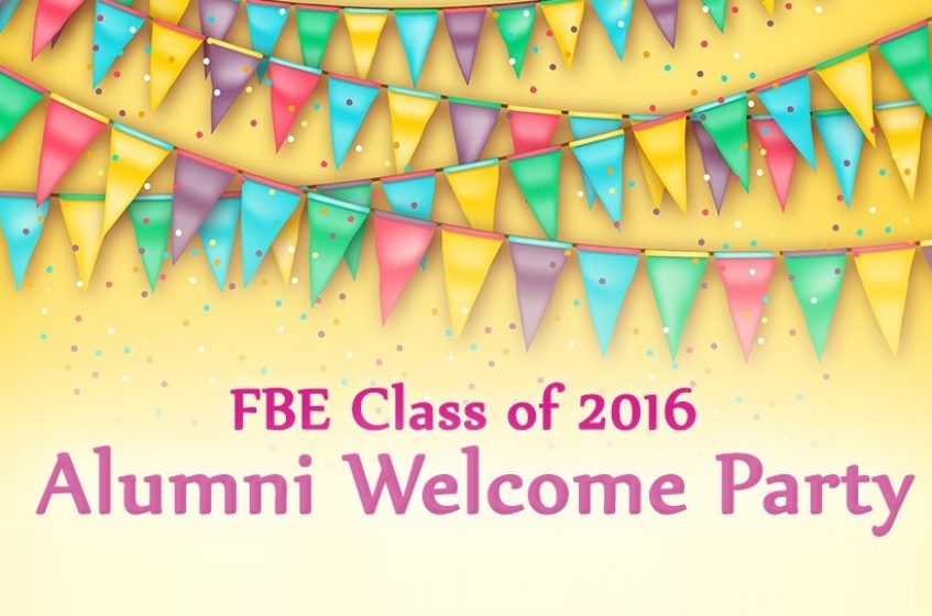 Alumni Welcome Party 2016