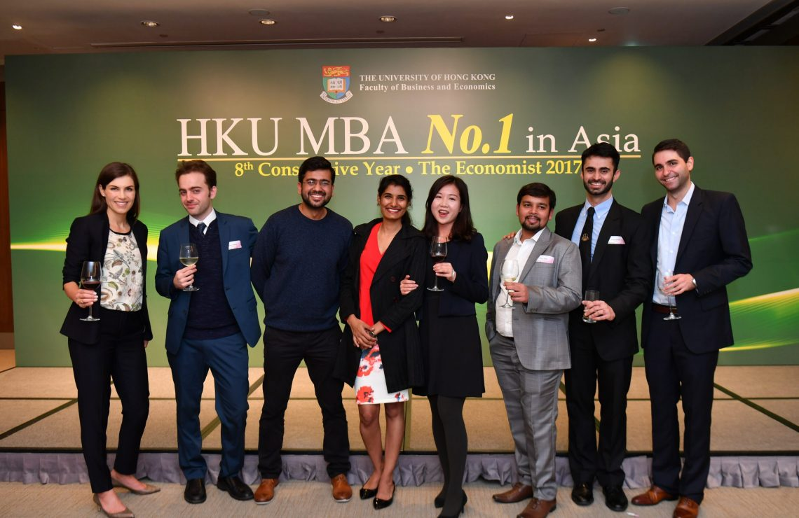 HKU MBA Crowned the Best in Asia for the 8th Consecutive Year